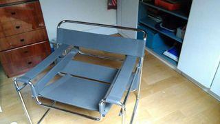 silla sillon wassily de marcel breuer