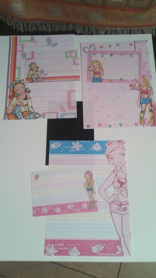 3 cartas perfumadas
