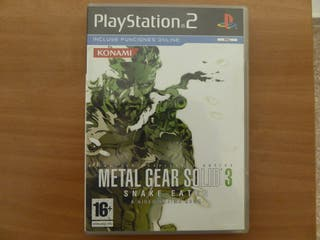 Metal Gear Solid 3 PS2
