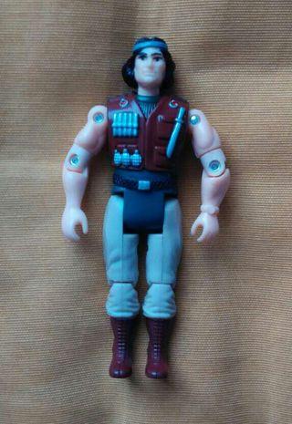 Muñeco Gi Joe de los 80s. PERFECTO ESTADO
