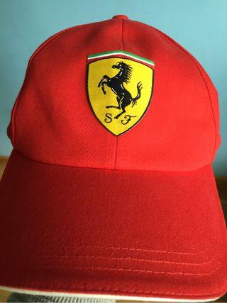 Gorra Oficial Scuderia Ferrari