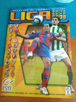 Album cromos Liga 2005-06