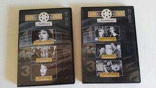 2 DVDs Joyas del cine 6 películas