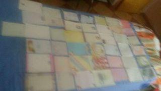 Lote o serie de 43 cartas perfunadas medianas