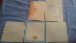 Lote cartas 5 perfumadas medianas