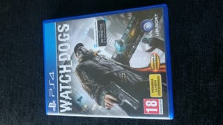 Watch Dogs PS4 (venta o cambio)