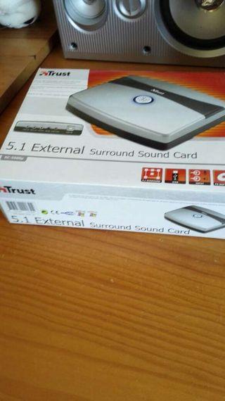 Trust 5.1 External Sound Card