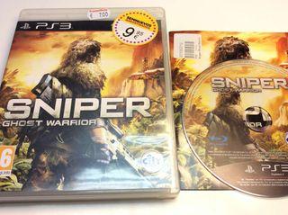 SNIPER Ghost Warrior para PlayStation 3