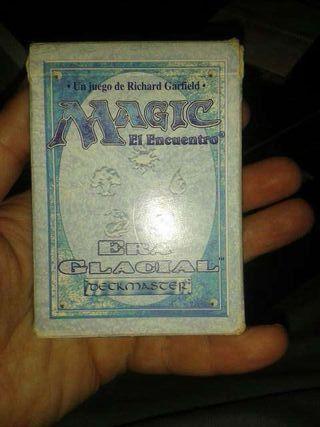 Mazo cartas magic, era glaciar.
