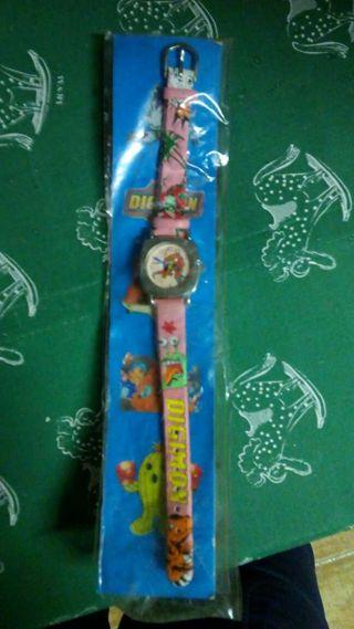 Reloj infantil marca digimon