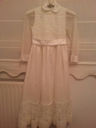 Vestido de comunión talla 8-9