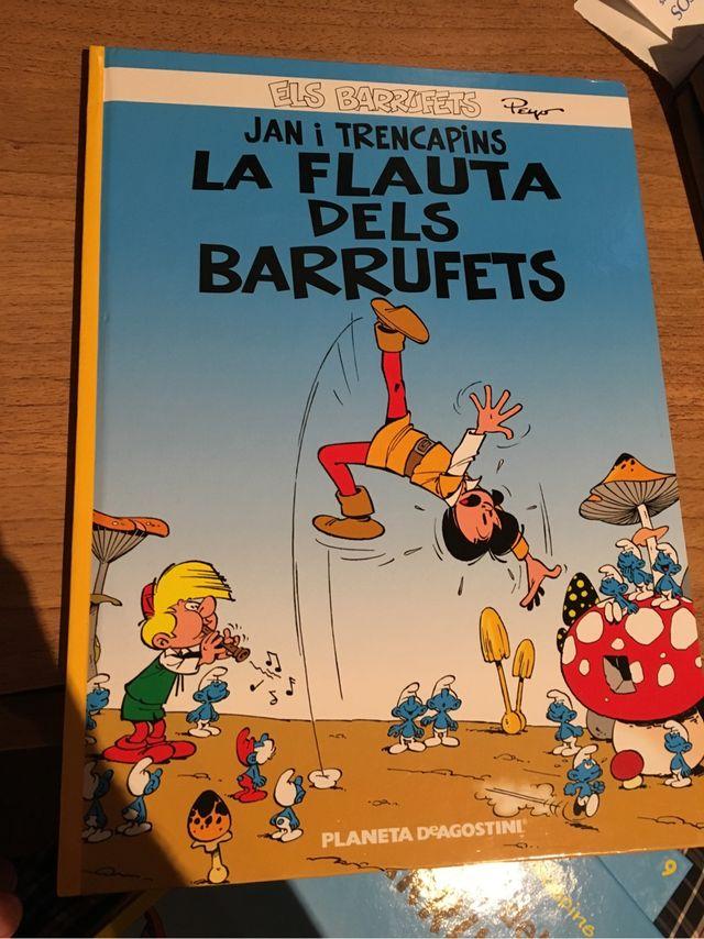 La Flauta Dels Barrufets - Planeta De Agostini NOU