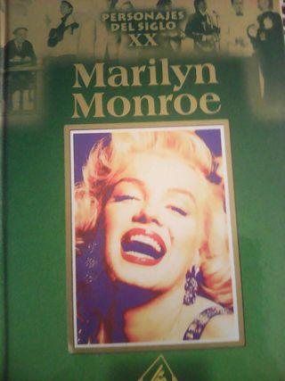 Libro biografia de Marilyn Monroe