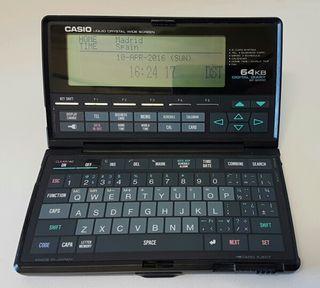 Agenda Digital Casio SF-9000.