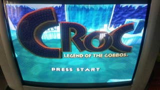 Juego psx croc legend of the gobbos