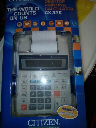 Calculadora citizen cx32 ll