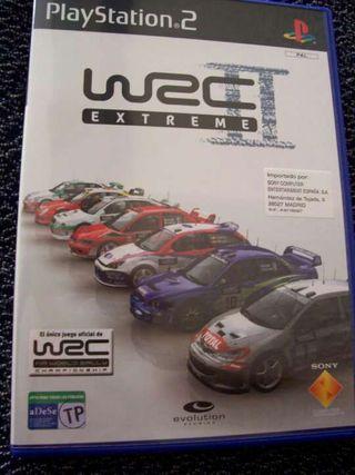 Juego WRC II extreme para play 2