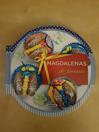 Libro de recetas de Magdalenas