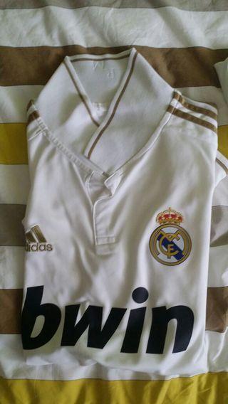 Camiseta real madrid dorada urge venda talla m