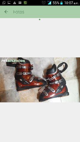 Botas de esquiar rosignol un dia de uso