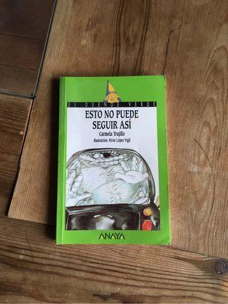"""Libro """"Esto no puede seguir asi"""""""