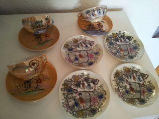 tazas I platos chinos tienen más de 70 año