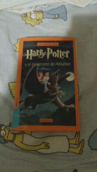 Libro Harry potter y el prisionero de Azkabán