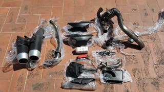 Kit completo escapes originales Ducati hypermotard 1100