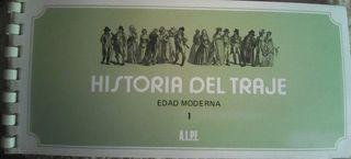 Cuaderno de sellos la historia del traje de la Edad Moderna 1