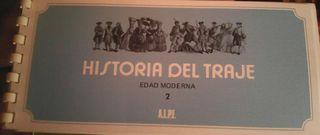 Cuaderno de Sellos La Historia del Traje de la Edad Moderna 2