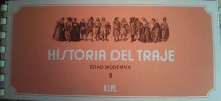 Cuaderno de Sellos La Historia del Traje de la Edad Moderna 3