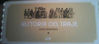 Cuaderno de Sellos La Historia del Traje de la Edad Moderna 4