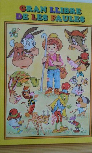 """""""Gran llibre de les faules"""" 8 contes"""