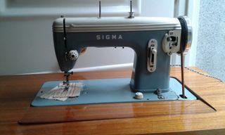 SIGMA, máquina de coser antigua