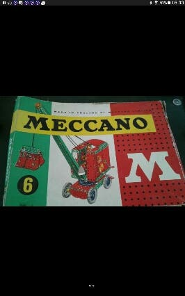 Grúa Meccano