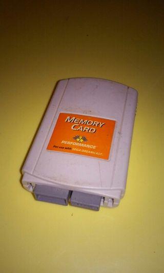 Memory card dreamcast