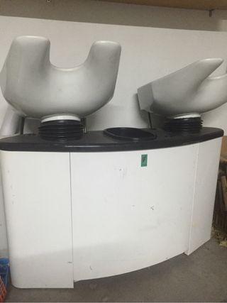 Se vende lavacabezas