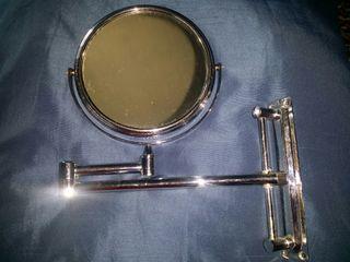 Espejo abatible 15 cm diámetro