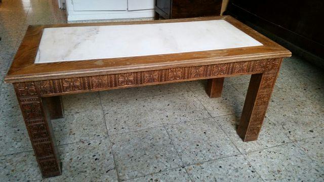 Mesa de centro antigua vintage de segunda mano por 55 for Mesas de centro antiguas