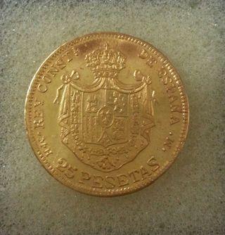 Moneda de oro.