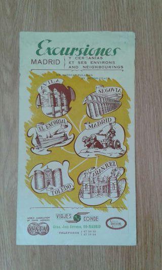 Publicidad de Madrid. Años 50
