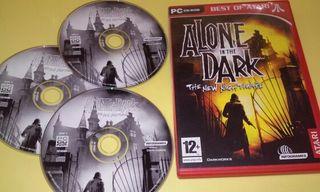 Alone in the dark pc. Año 2001