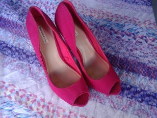Zapato peep toe bershka