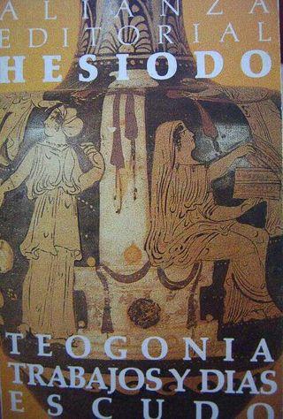 Libro La Teogonia de Hesiodo