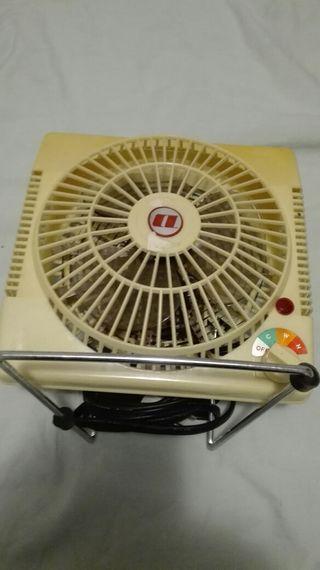 Ventilador caliente y frio Vintage