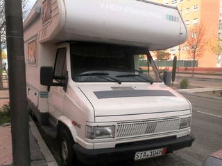 Autocaravana fiat ducato 2.5 diesel