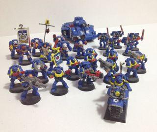 Warhammer 40000 Ejército Marines Espaciales