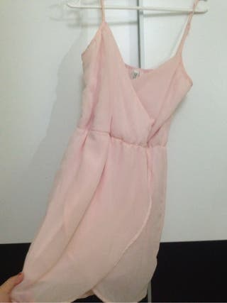 Vestido Rosa Pastel S