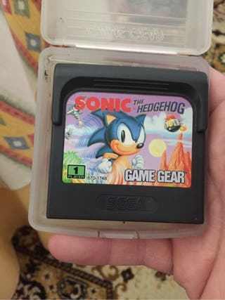 Juego game gear sonic