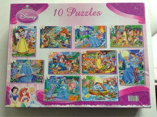 10 Puzzles Disney Princess